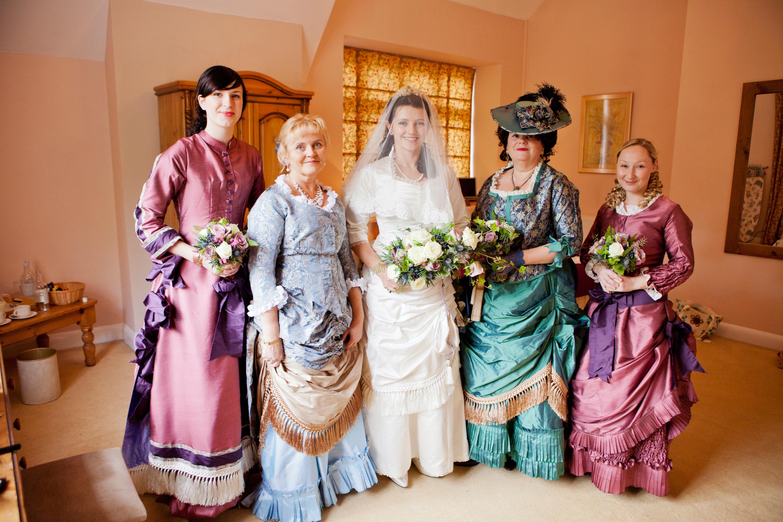My Big Fat Victorian Wedding St Audries Park West Quantoxhead
