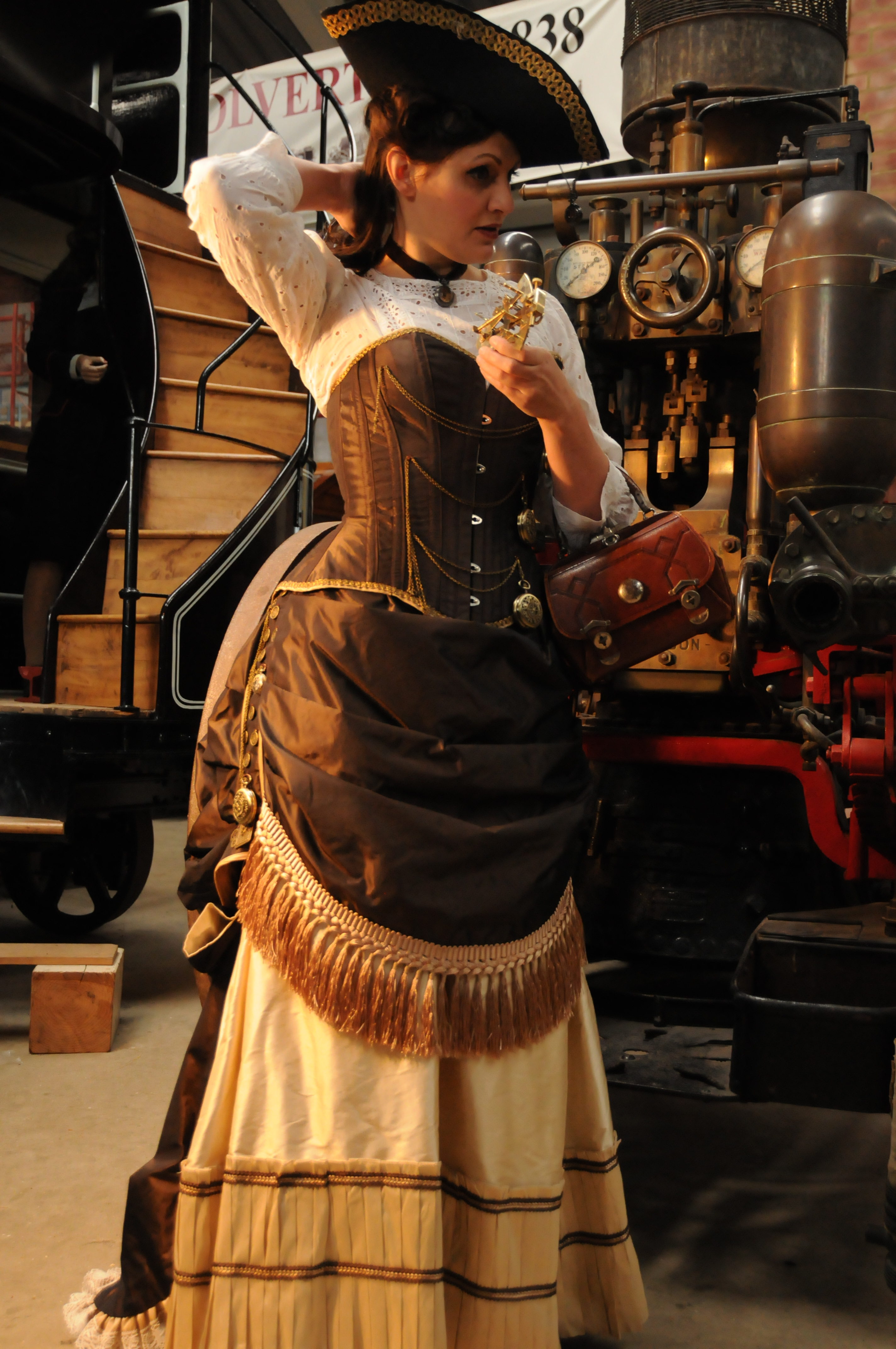 Steampunk Fashion: Steampunk Travellers Collection