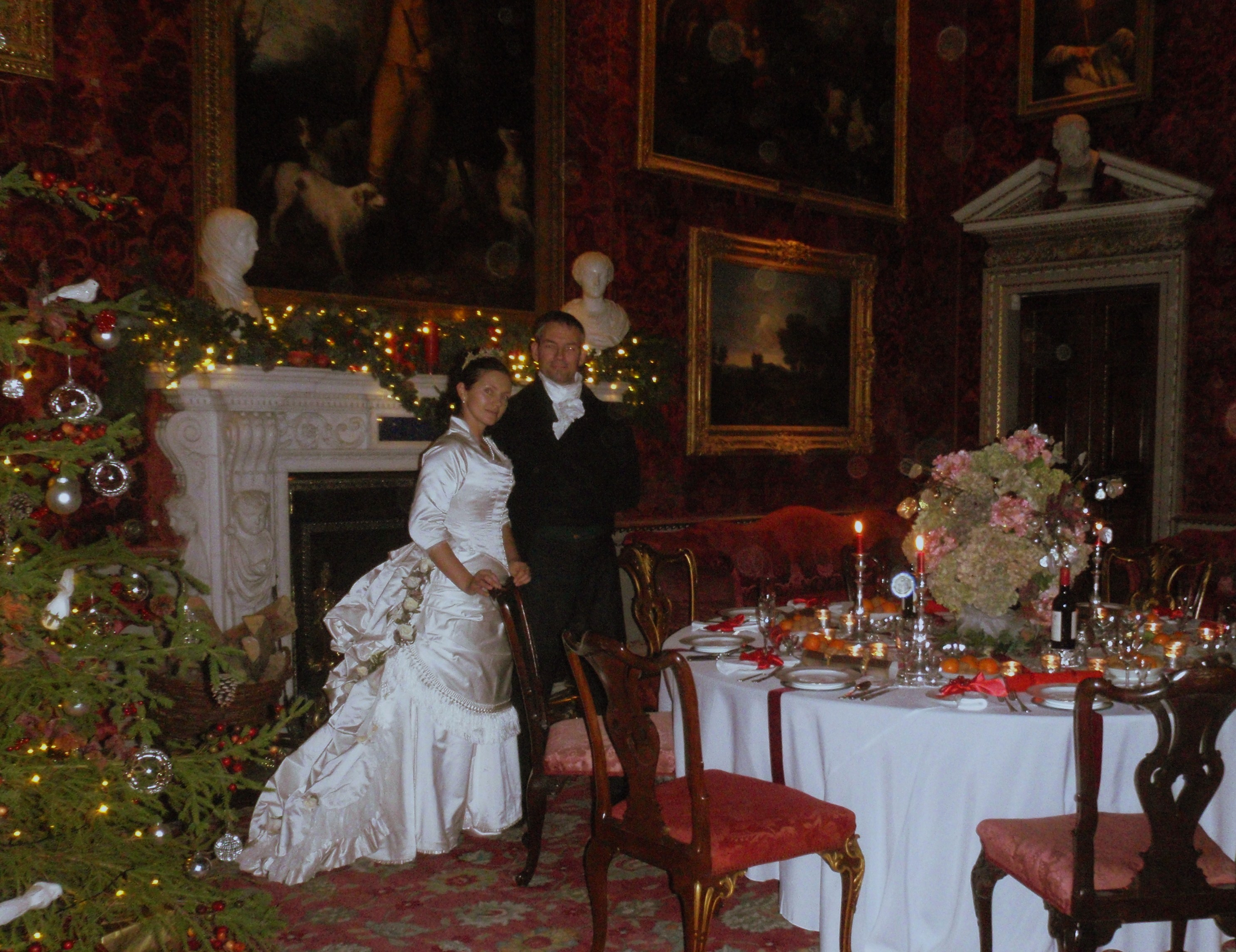 Victorian Christmas at Holkham Hall | A Damsel in This Dress