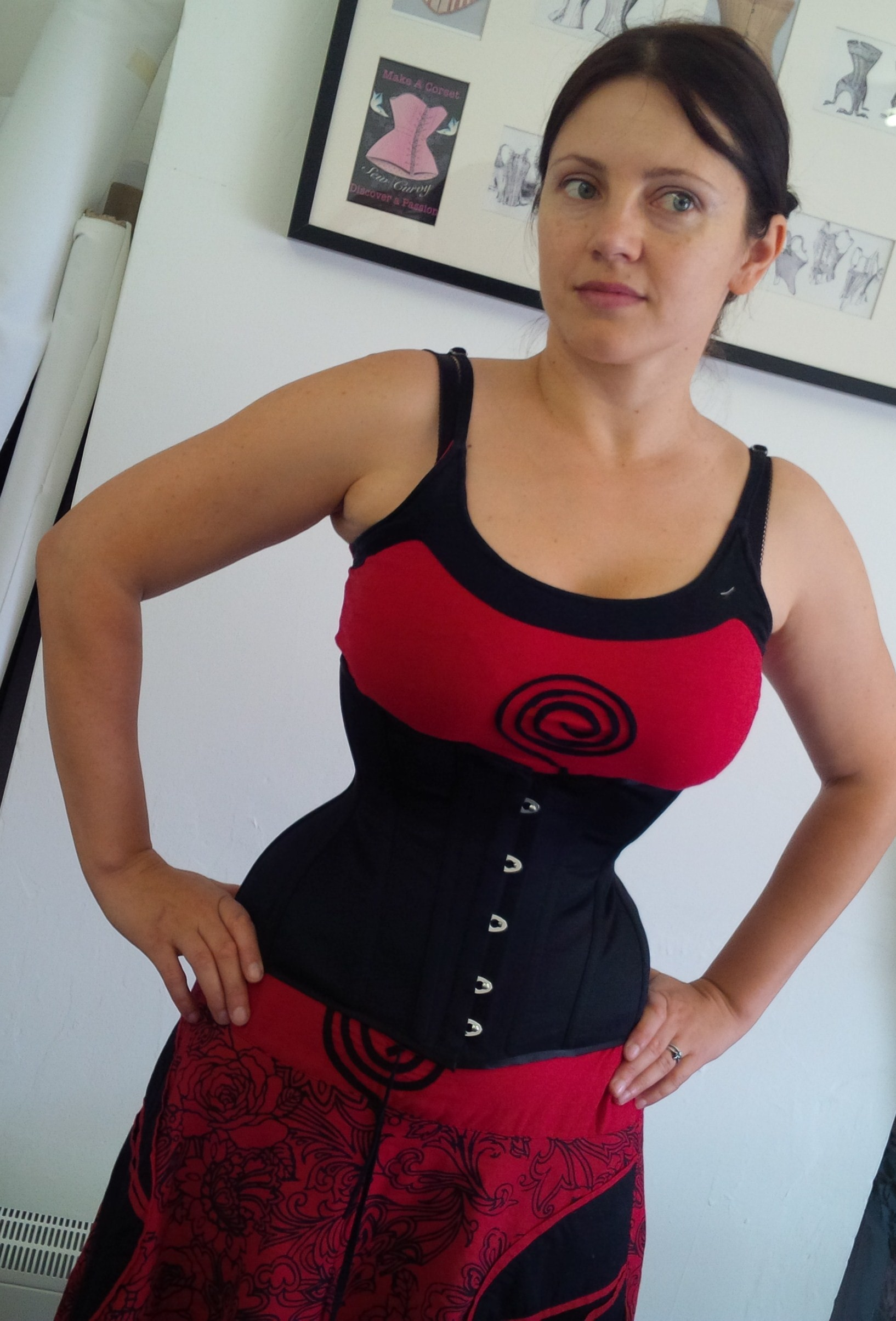 waist training corset | A Damsel in This Dress