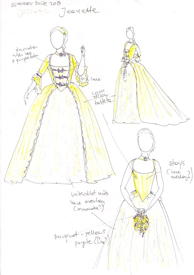 historical wedding gowns | A Damsel in This Dress