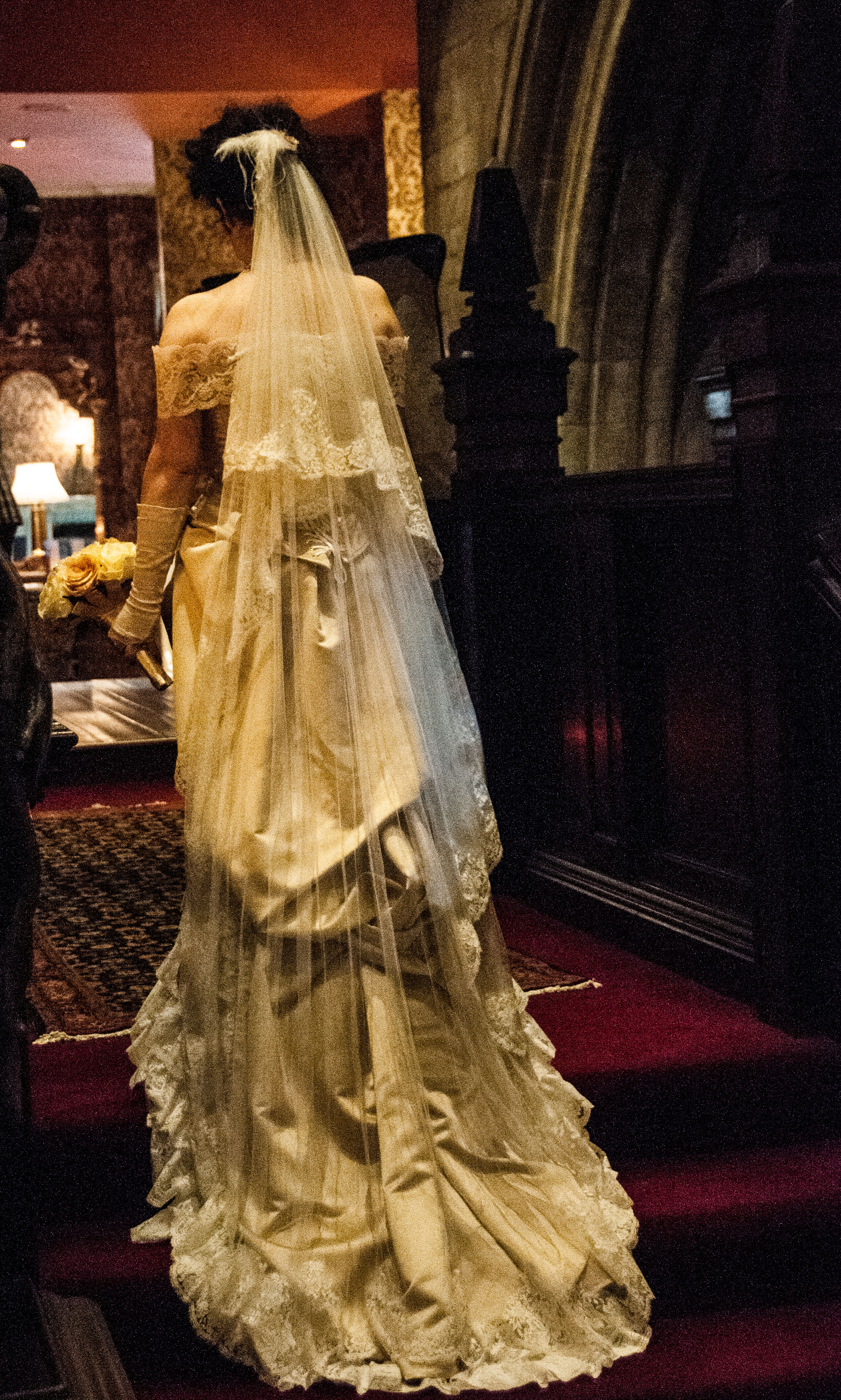 Victorian wedding gown | A Damsel in This Dress