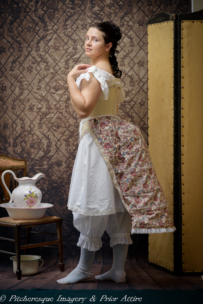 How to make a Victorian cage bustle | A Damsel in This Dress