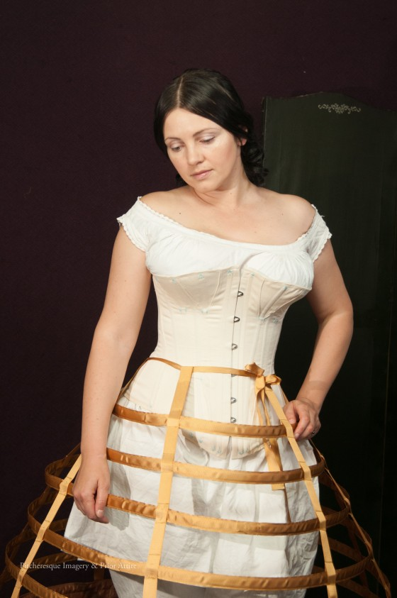 2ca4f0e16c Mid-Victorian corset project – and pattern review