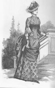 2.Autumn costume 1883