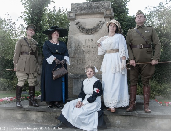 St Neots WWI Comemorative July 2014-18