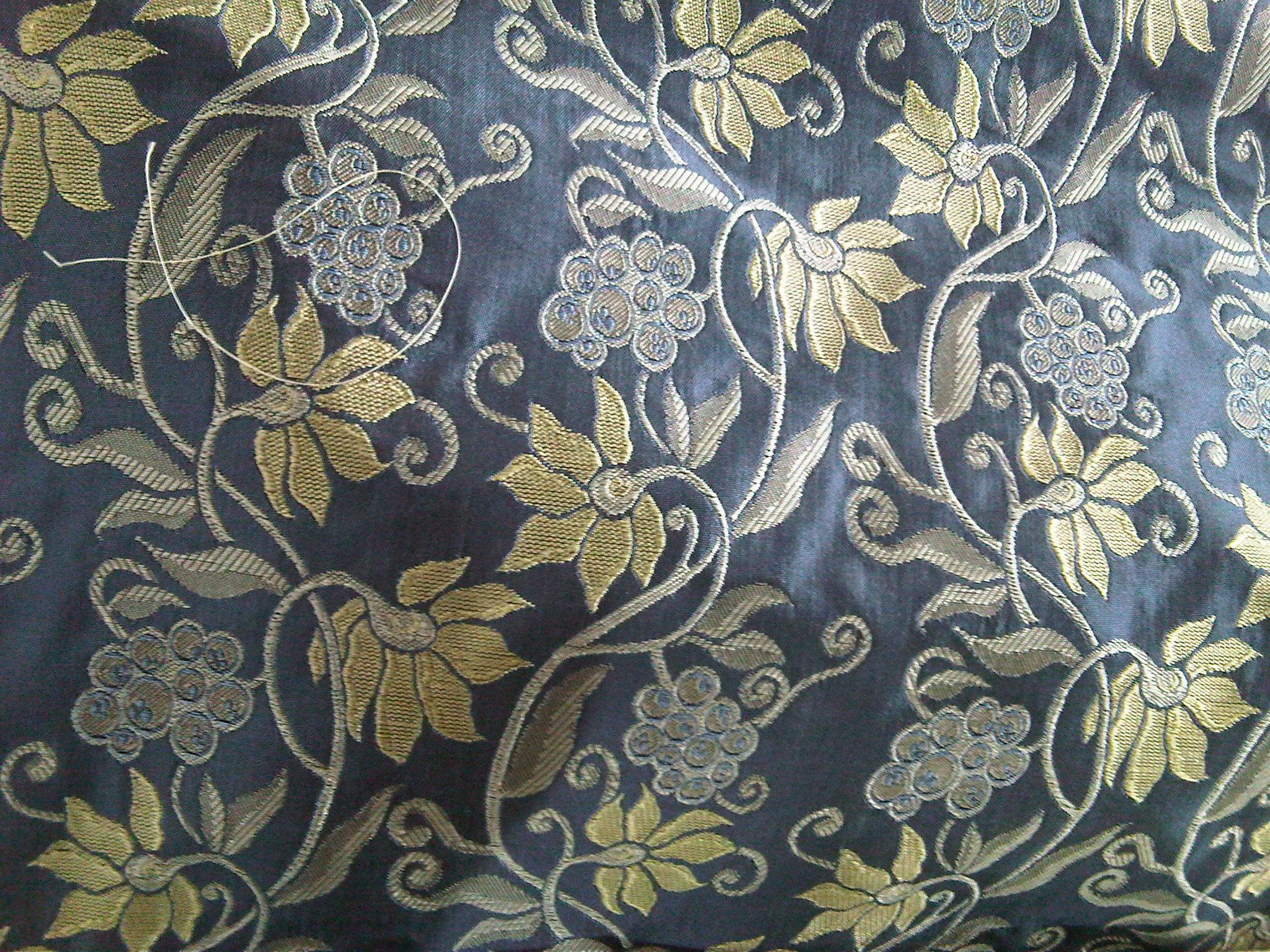 Img Velvet Brocade Material