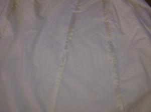 2. flatlining the skirt