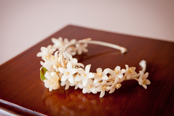 29. antique tiara of wax orange blossoms ,copyright Lensmonkey Photography