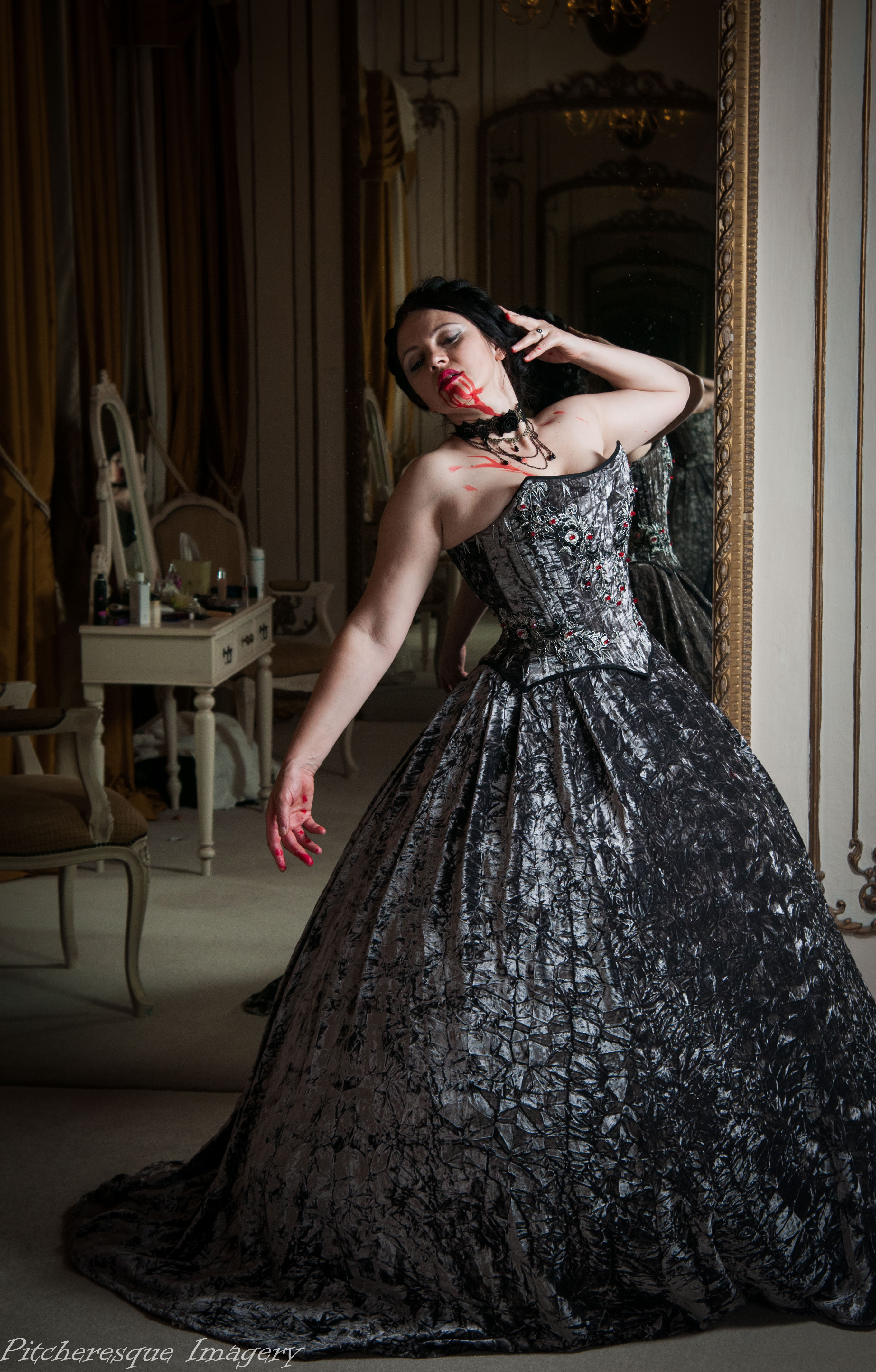 Gosfield Hall Halloween 2014-42  sc 1 st  A Damsel in This Dress & hair and make up | A Damsel in This Dress