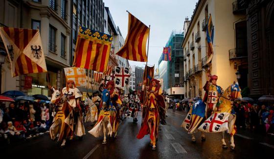 COMUNIDAD/// Cabalgata de homenaje a Jaume I