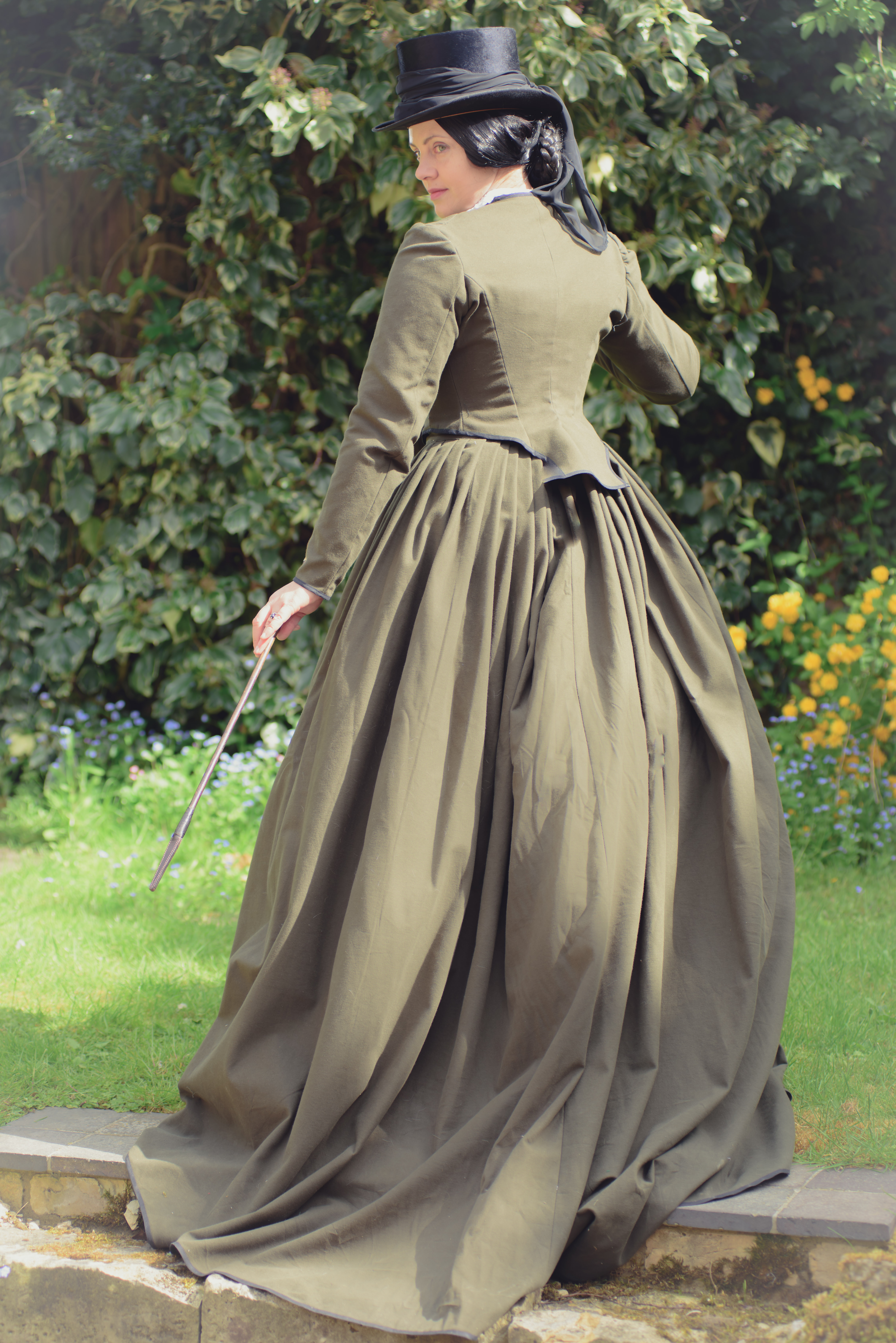 Victorian riding habits – bespoke and stock items | A Damsel in ...