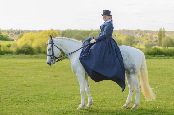 Corseted Sidesaddle-118
