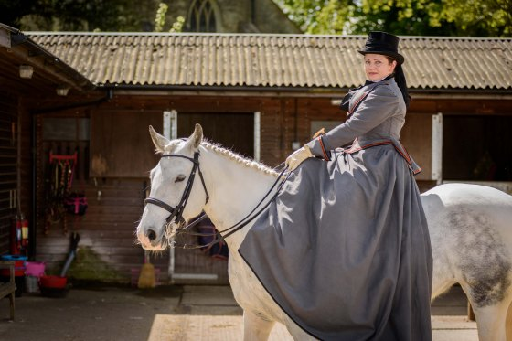 Corseted Sidesaddle-44