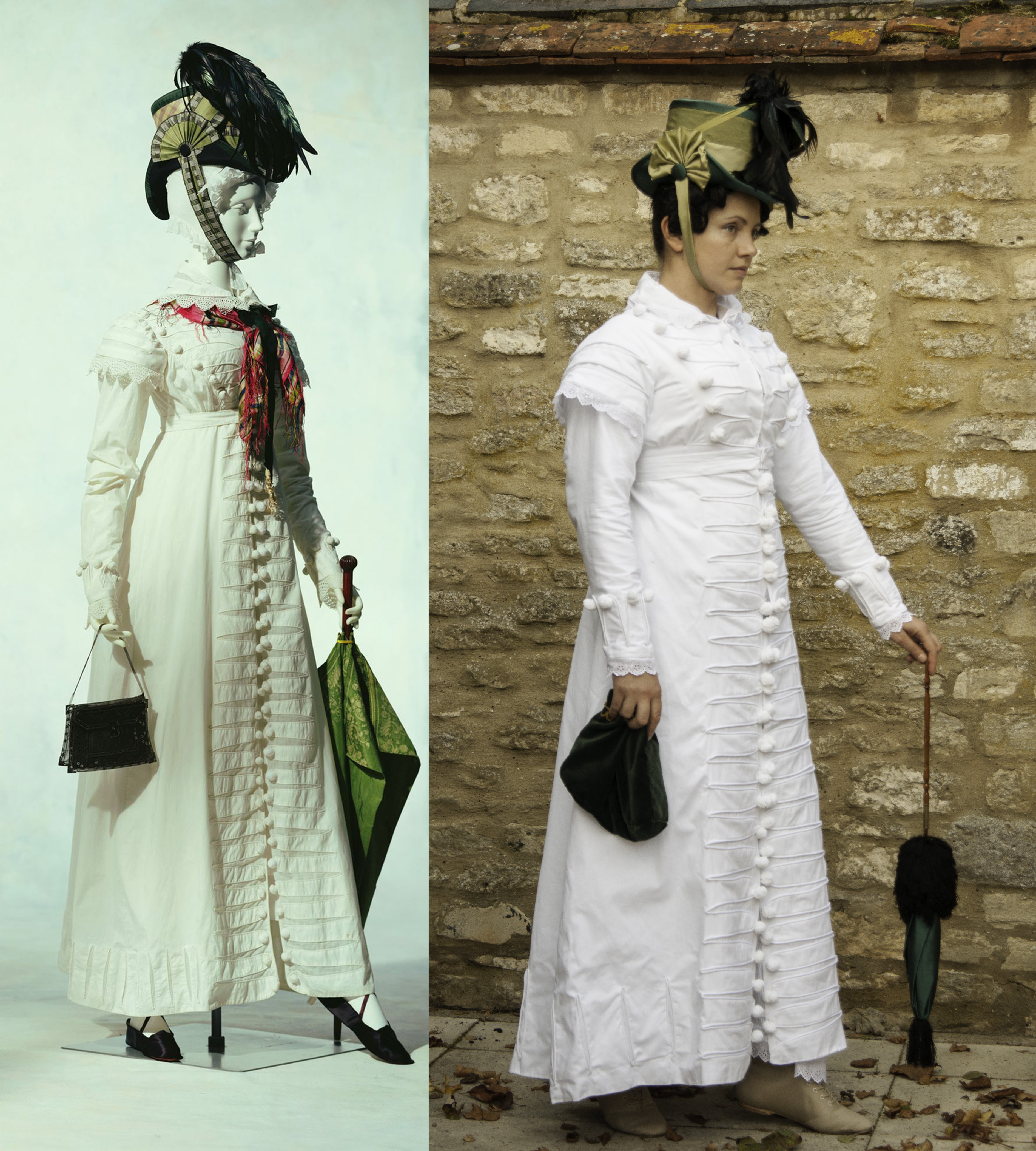 Regency: The Most Common Mistakes In Historical Costuming/re