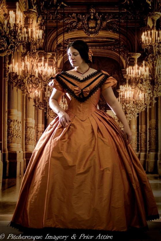 1860 Gown Orange (1)