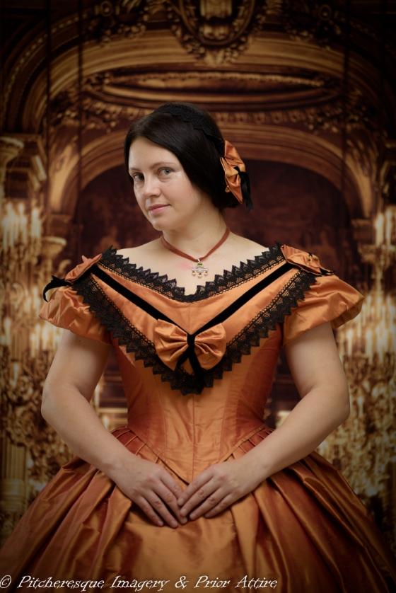 1860 Gown Orange (13)