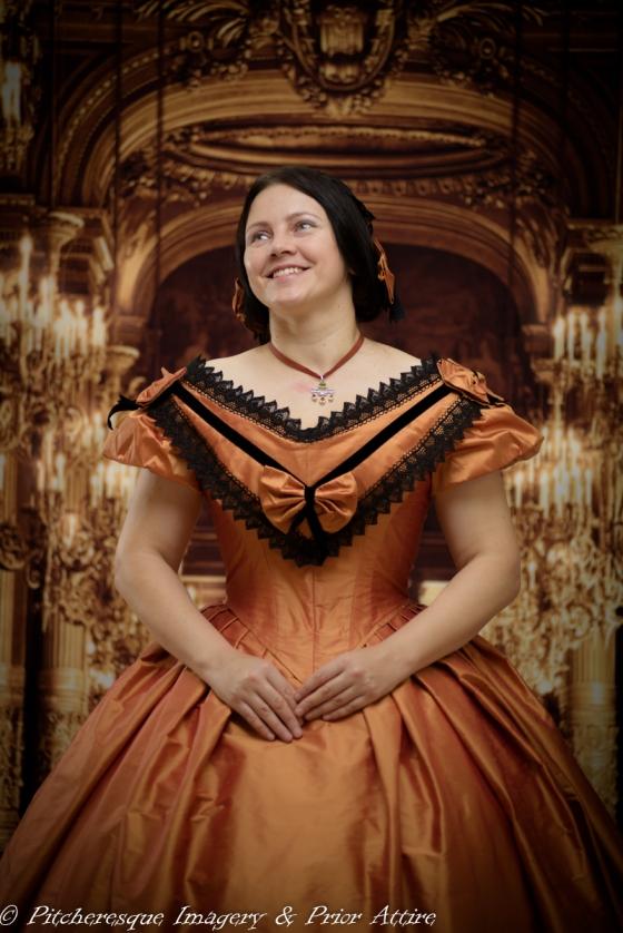 1860 Gown Orange (15)