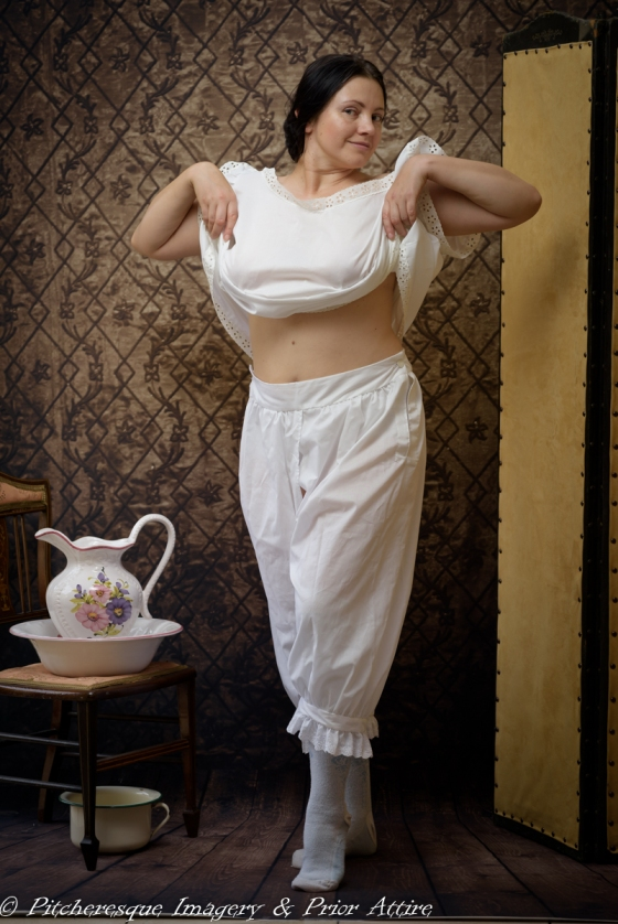 Late Victorian Stock Undergarments - October 25, 2015 - 10