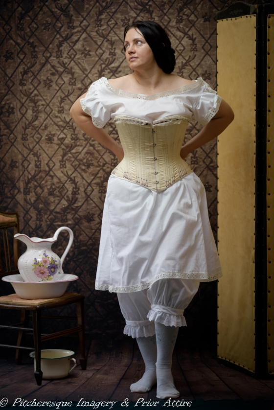 Late Victorian Stock Undergarments - October 25, 2015 - 22