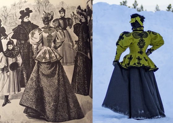 1890s Winter Plate and Outfit