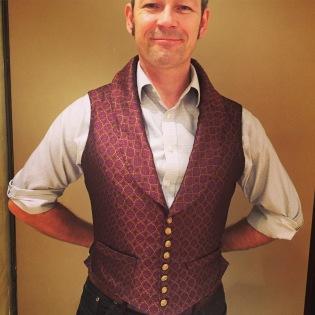 the waistcoat!